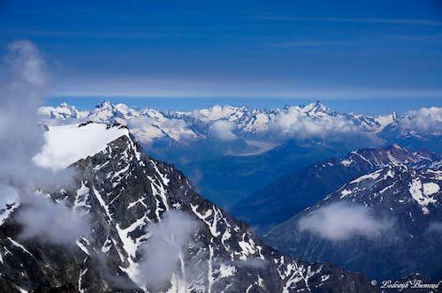 Finteraarhorn & Aletsch Glacier