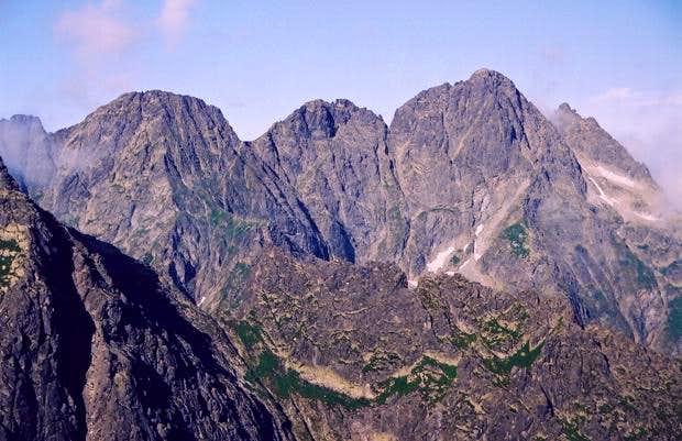 Miêguszowieckie Peaks' Massif...