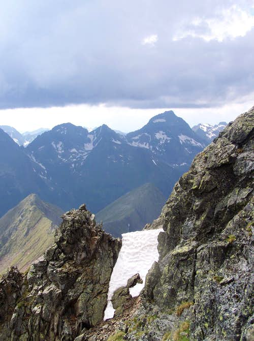 Hochgolling - view from Roteck