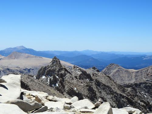 Mount Muir from Mt Whitney