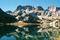 Minarets reflected in Lake...