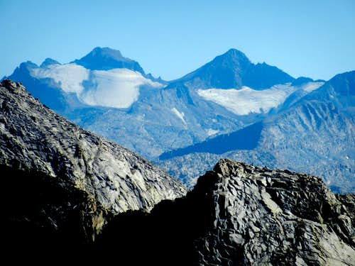 Mt. Lyell and Mt. Maclure