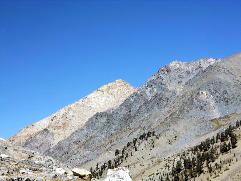 Mt Eisen from near Spring Lake