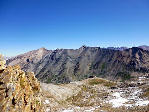 Mt Eisen from Glacier Pass