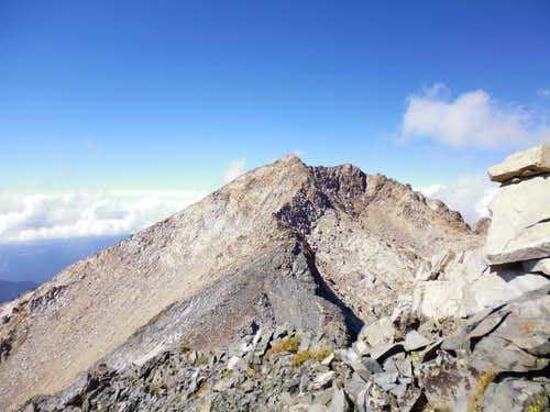 Mt Eisen's south ridge