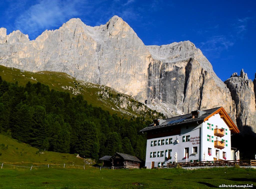Rifugio Stella Alpina and Catinaccio