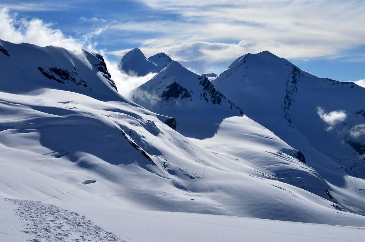 Castor & Pollux from near Kleine Matterhorn : Photos