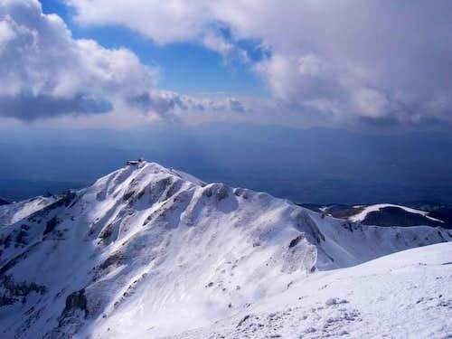 The SW ridge connecting...