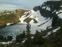 Warren Peak and Patterson Lake