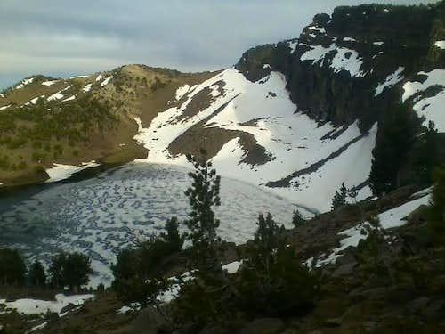 Warren Peak and Patterson Lake