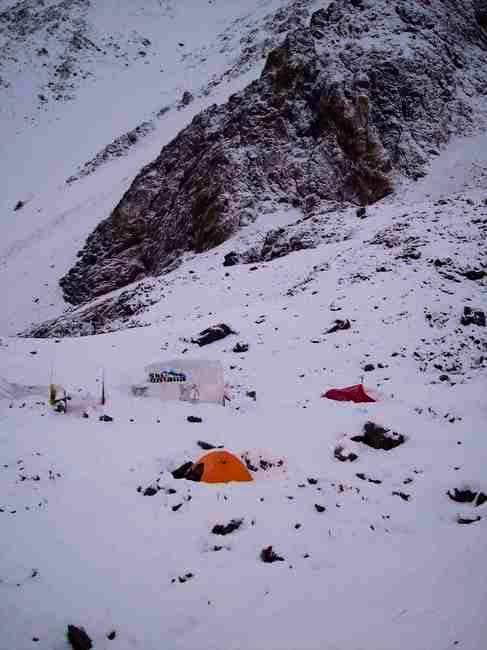 Salto Base Camp (4200m,...