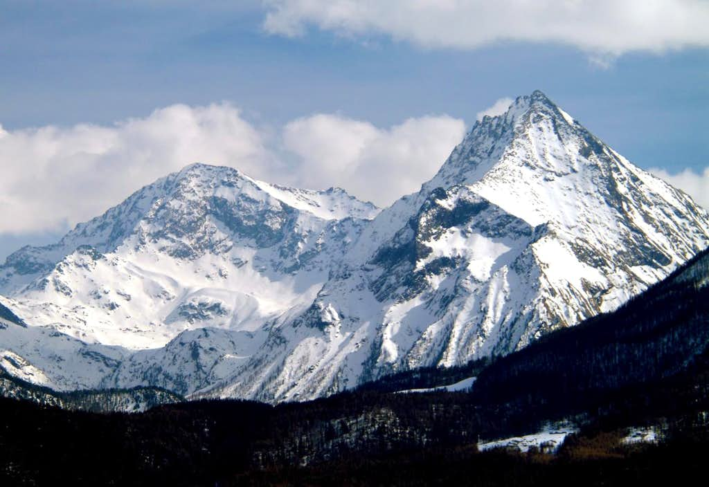 From Croix de Fana to Mounts Glacier/Rafray 2003