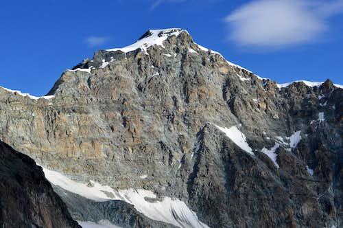 Allalinhorn 4027m from Allalin Glacier