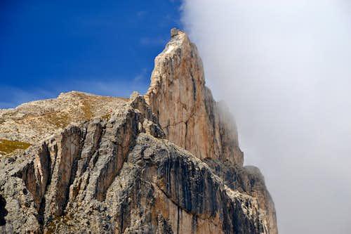 Croz di Santa Giuliana or Torre del Finestrino, 2670 m