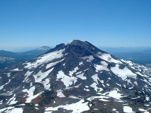 South Sister visible from the...