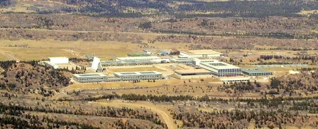 Close up of Air Force Academy...