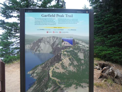 Map from the trailhead