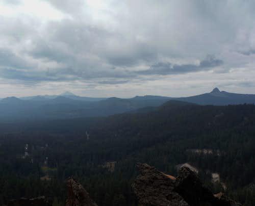 Union Peak and Mount McGloughin