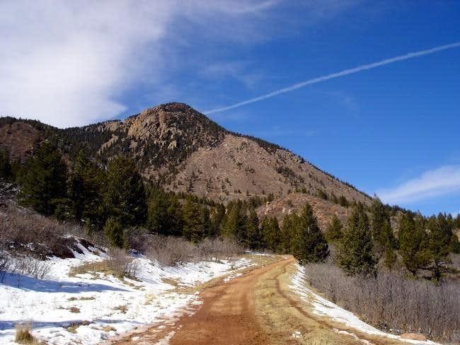Blodgett Peak from near...