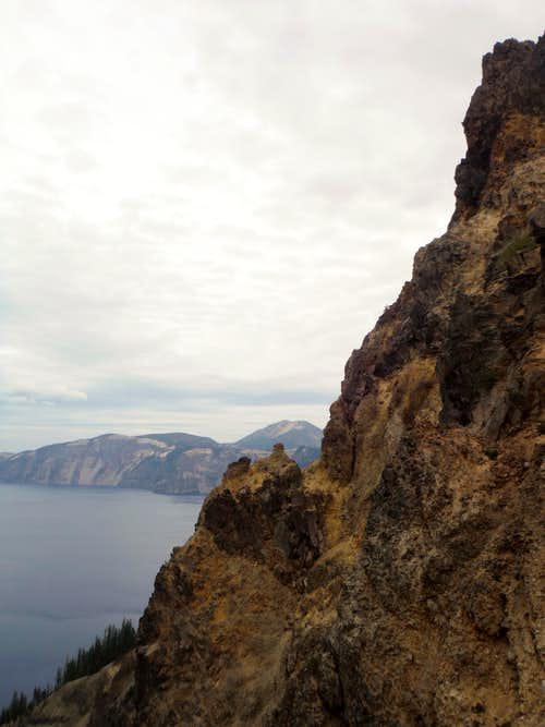 The view of the cliffs