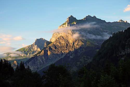 Bire from above Kandersteg