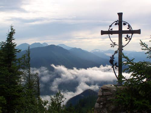 Summit cross of Handlesberg