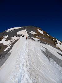 summit ridge of taillon