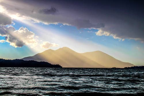 Mt. Konocti  from Clear Lake