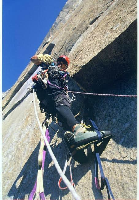 Days worth of vertical rock...