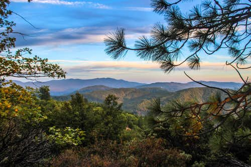 Northeast from Horse Mtn.