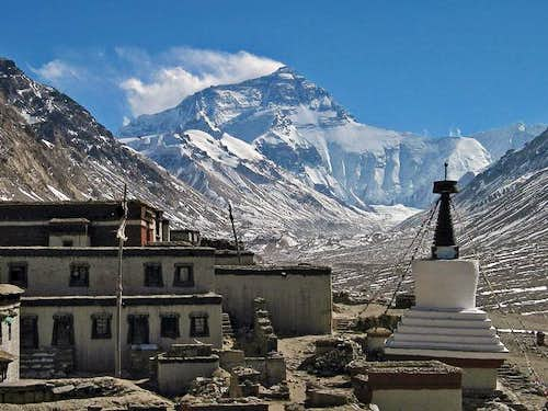 Everest from Rongbock