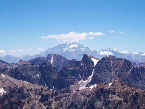 View of Aconcagua from the...