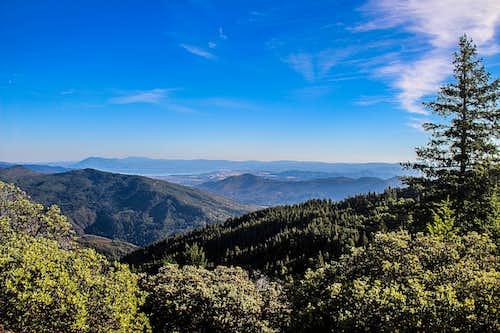Elk Mountain looking southeast towards Clear Lake