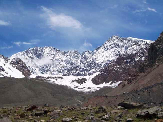Cerro Vallecitos (left) and...
