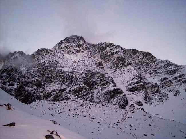 Cerro Rincon from Salto Base...