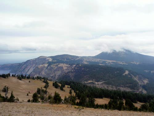 Cloudcap and Mount Scott