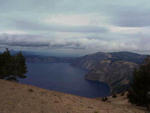 Looking at Cloudcap and Crater Lake