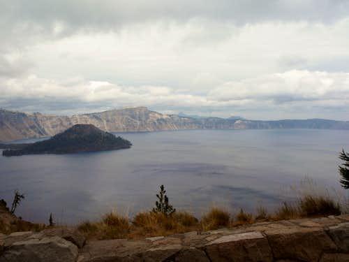 Llao Rock and Crater Lake