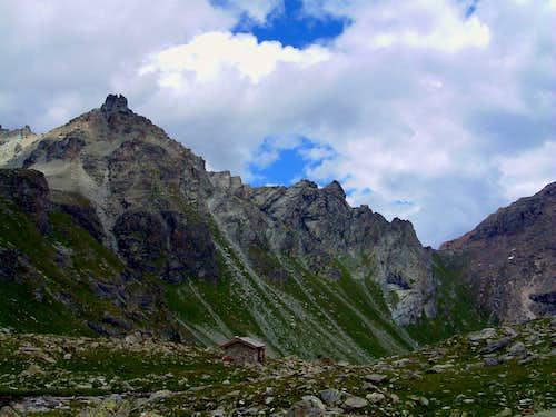 Luseney plateau and Reboulaz Bivouac