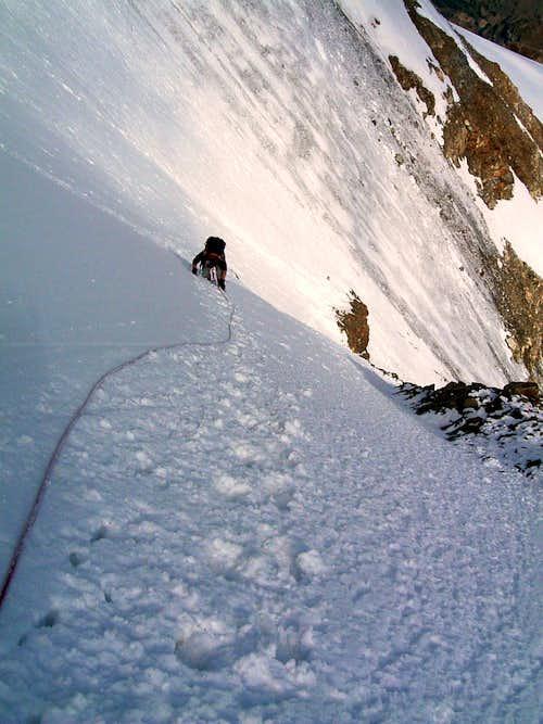 Becca di Luseney Northern slope