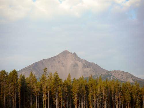 Sunrise over Mount McLoughlin