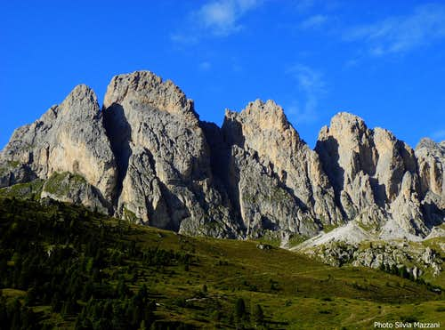 Alpe di Cisles walls' line-up