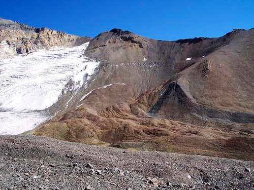 The East Ridge of Cerro...