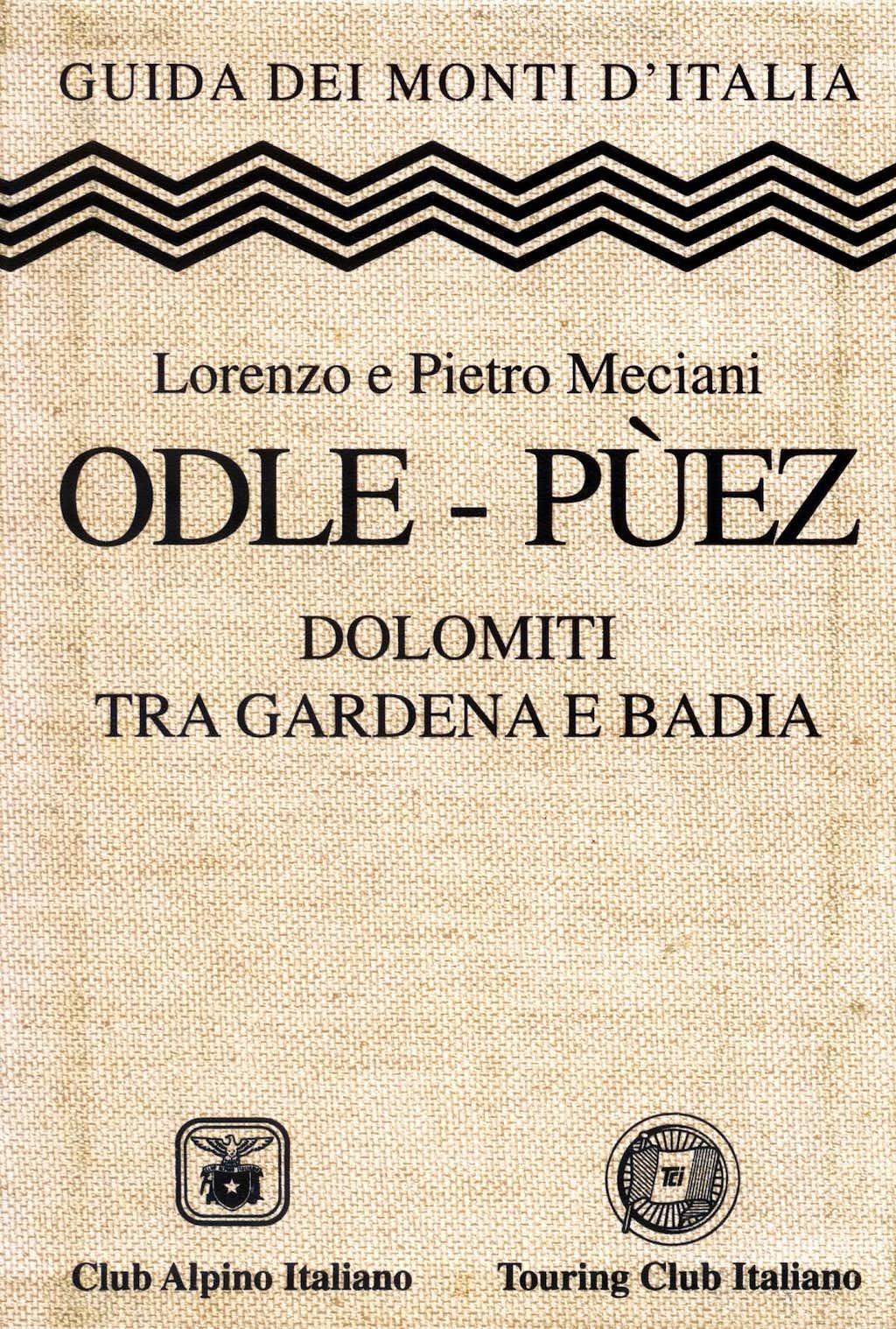 Guidebook Puéz-Odle