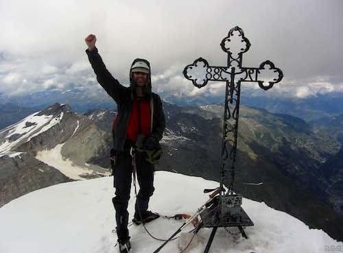 Brunegghorn summit