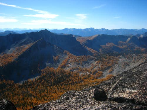 Raven Ridge view south