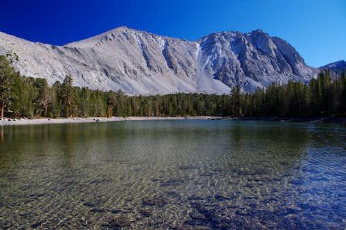 Wheeler Peak from Dorothy Lake