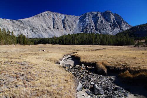 Wheeler Peak on the right