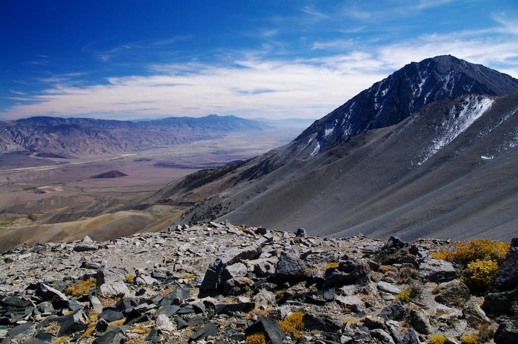 Owens Valley From Kid Mountain