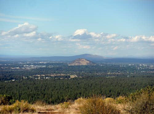 Pilot Butte from Bessie Butte
